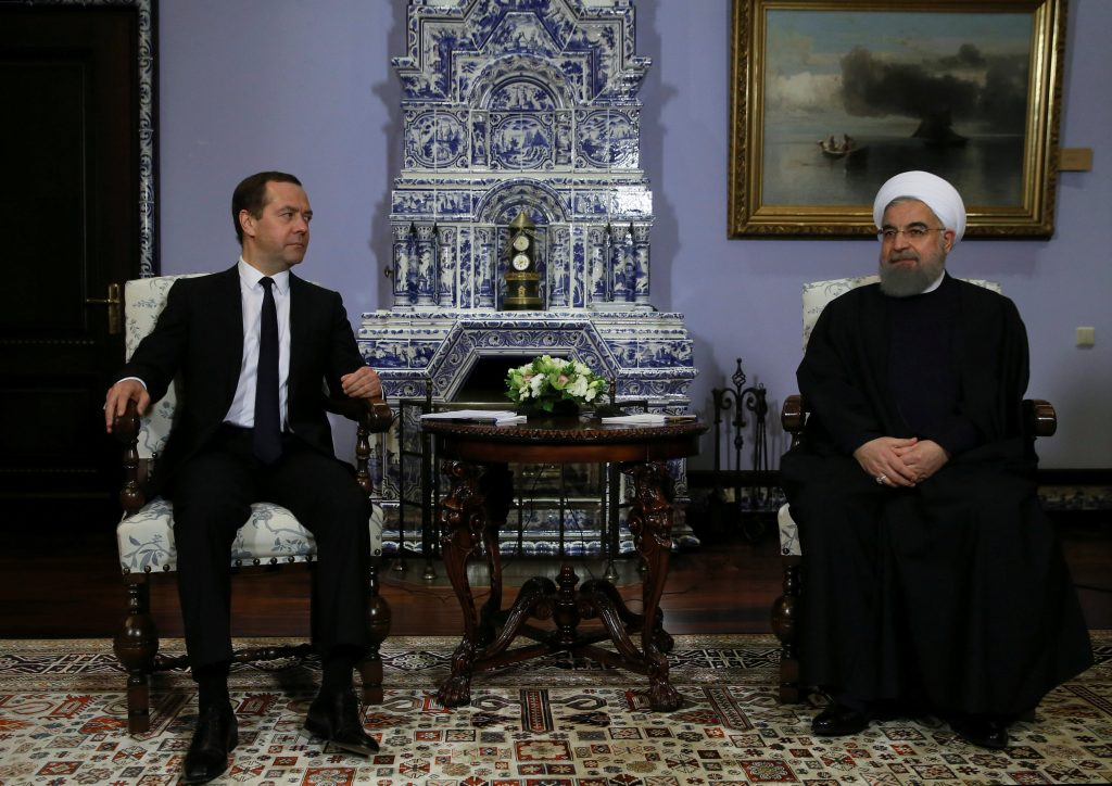 Iran, Russia, Rouhani, Medvedev