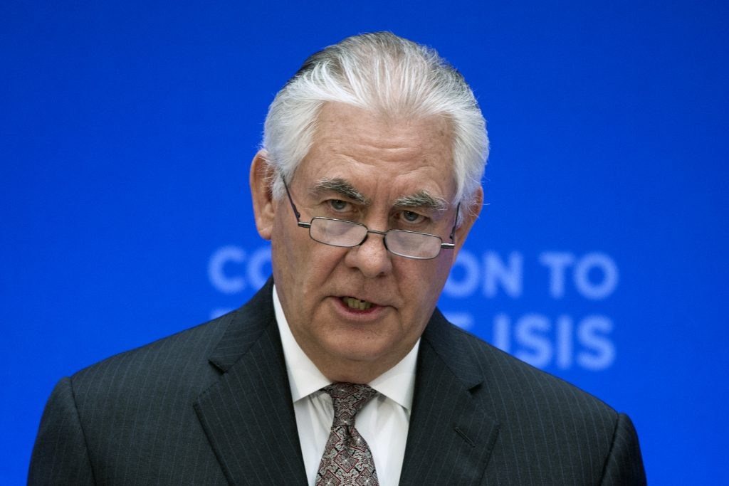 Islamic State, State Department, ISIS, Tillerson, Terrorism