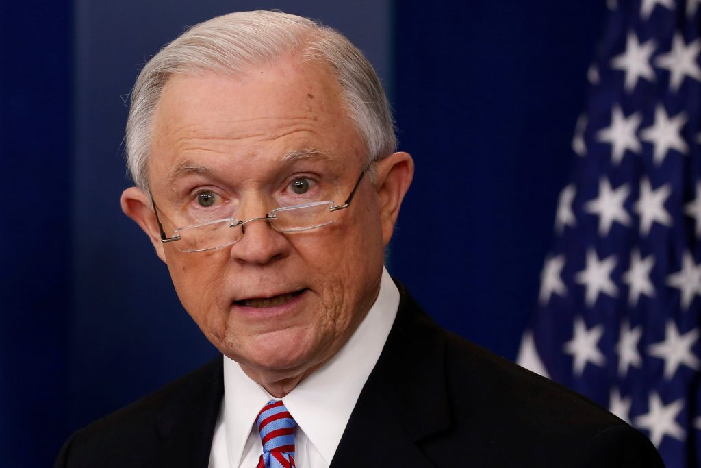 Attorney General, Jeff Sessions, Justice Department, sanctuary cities, federal grants, law enforcement