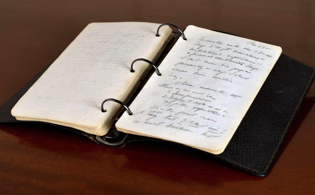 diary, John F. Kennedy, World War II, Hitler