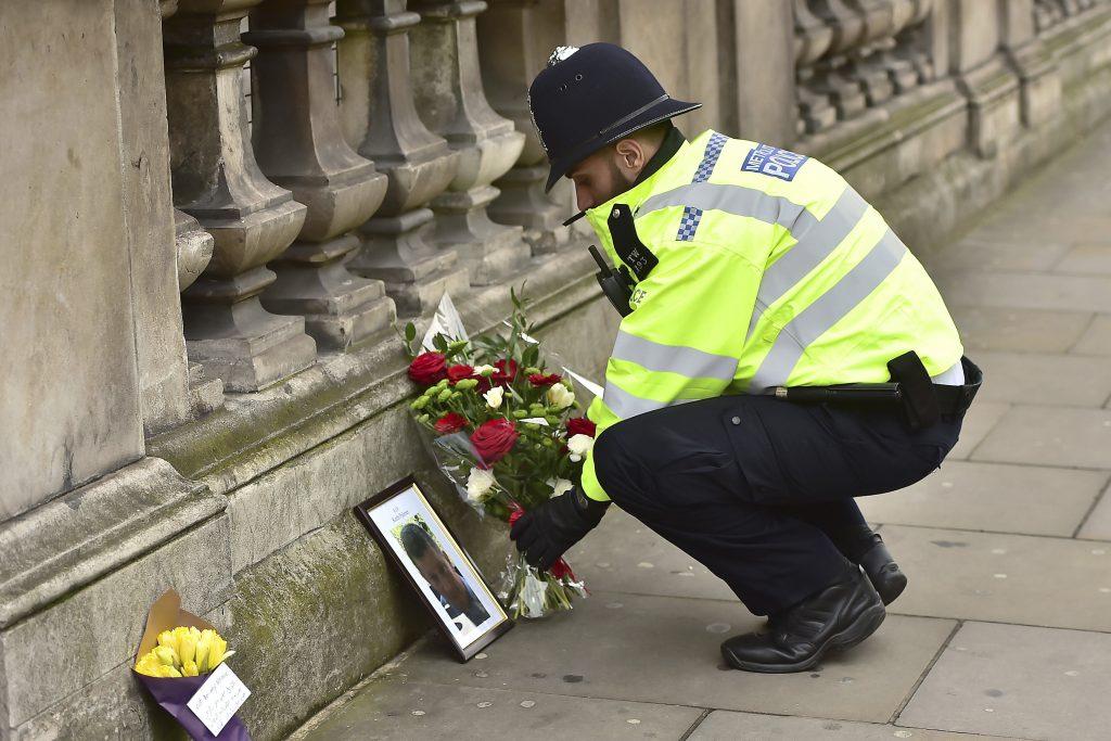 Keith Palmer terror attack London Parliament UK U.K.
