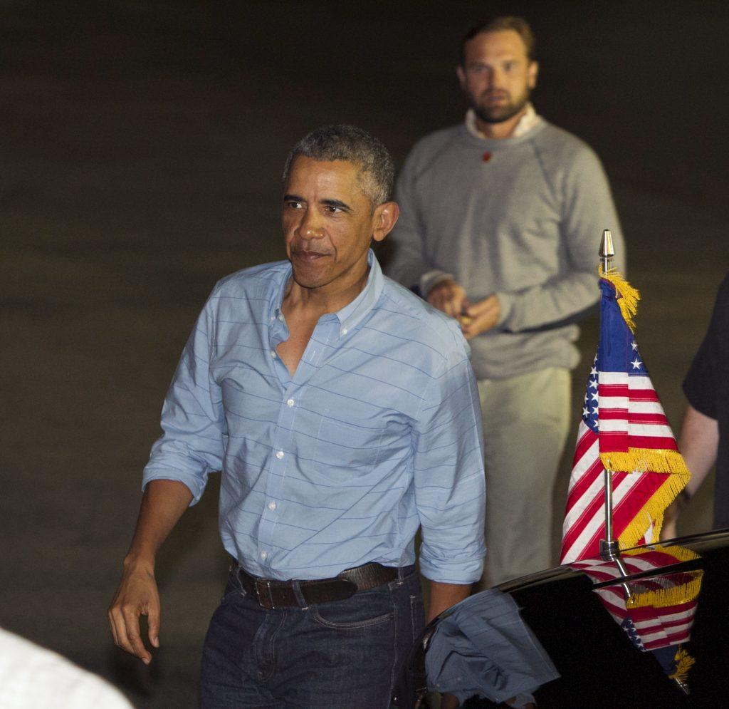 Barack Obama, Joe Biden, Denis McDonough