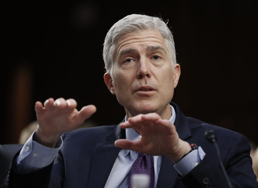 Senate, Gorsuch, Trump, Supreme Court