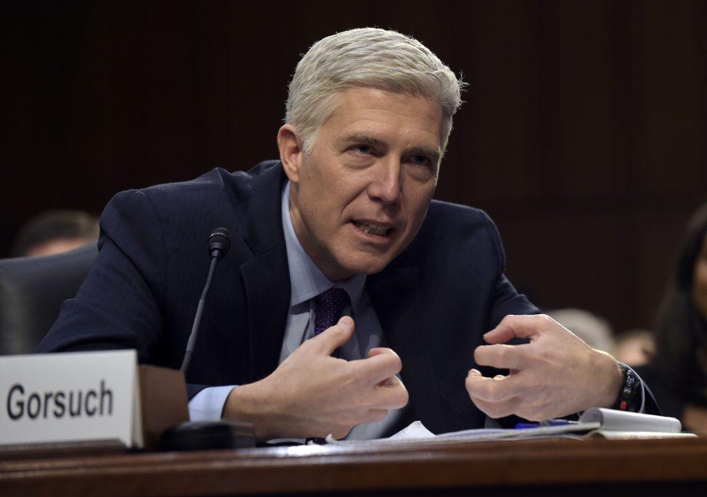 Gorsuch, supreme court, mcconnell, filibuster, senate, nuclear option