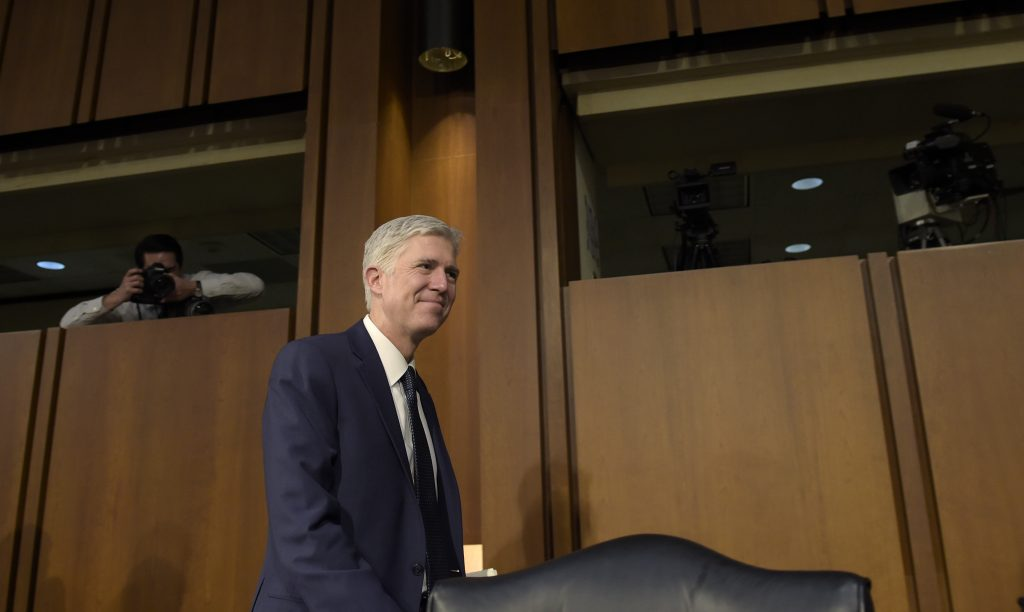 Orthodox Jewry, Neil Gorsuch, United States Supreme Court