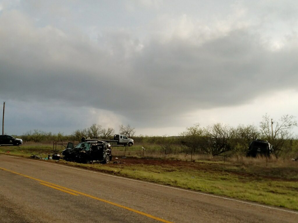storm chasers, killed, car wreck, Texas, tornado, storm