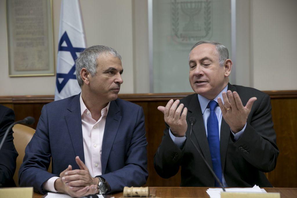 Netanyahu Kahlon elections