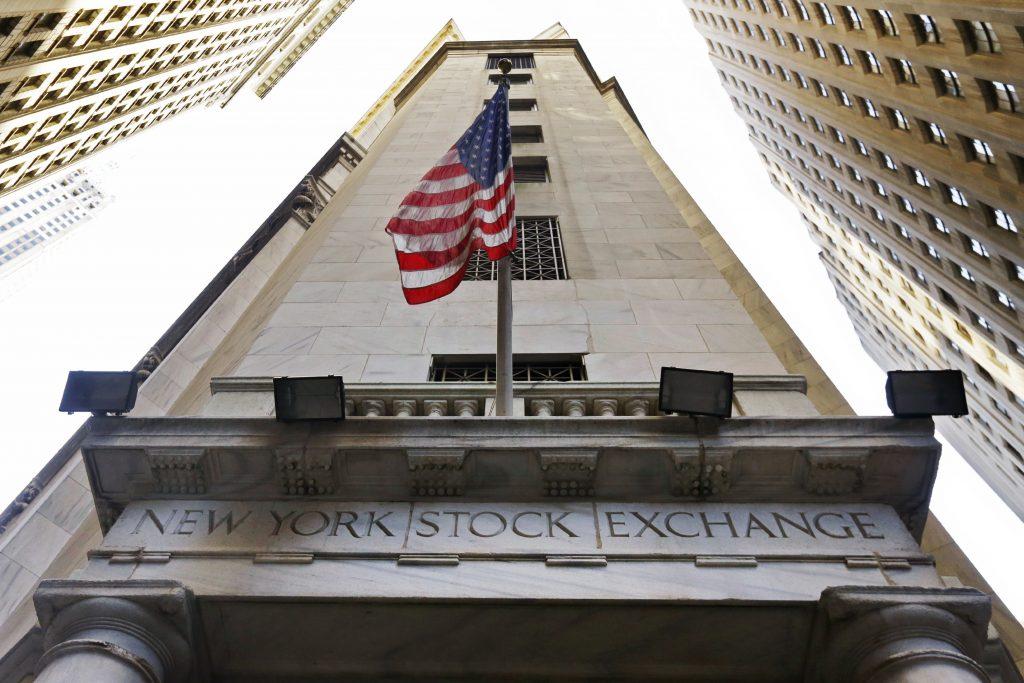 Financials, companies, U.S., stock indexes, higher, trading