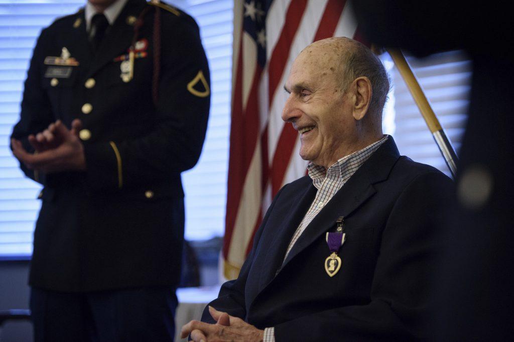 North Carolina, Purple Heart, Belgium, World War II, Oscar Davis Jr., Battle of the Bulge