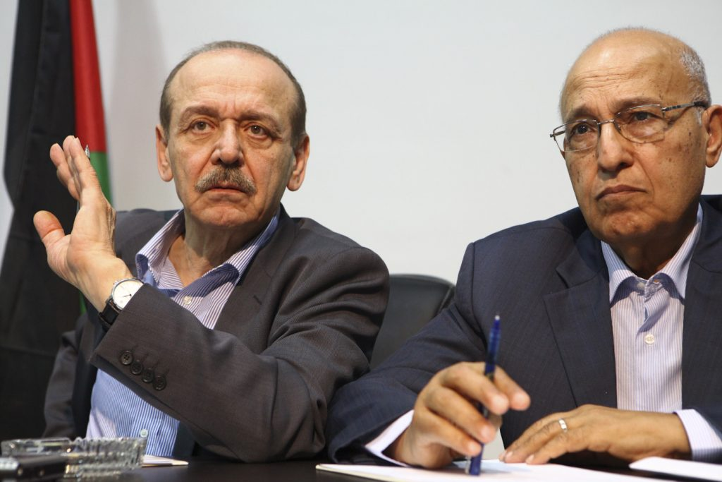 Palestinians, Preconditions, Peace Talks
