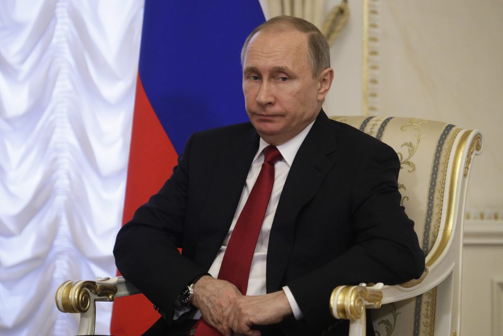 Putin, Netanyahu, Syria, Chemical Attack