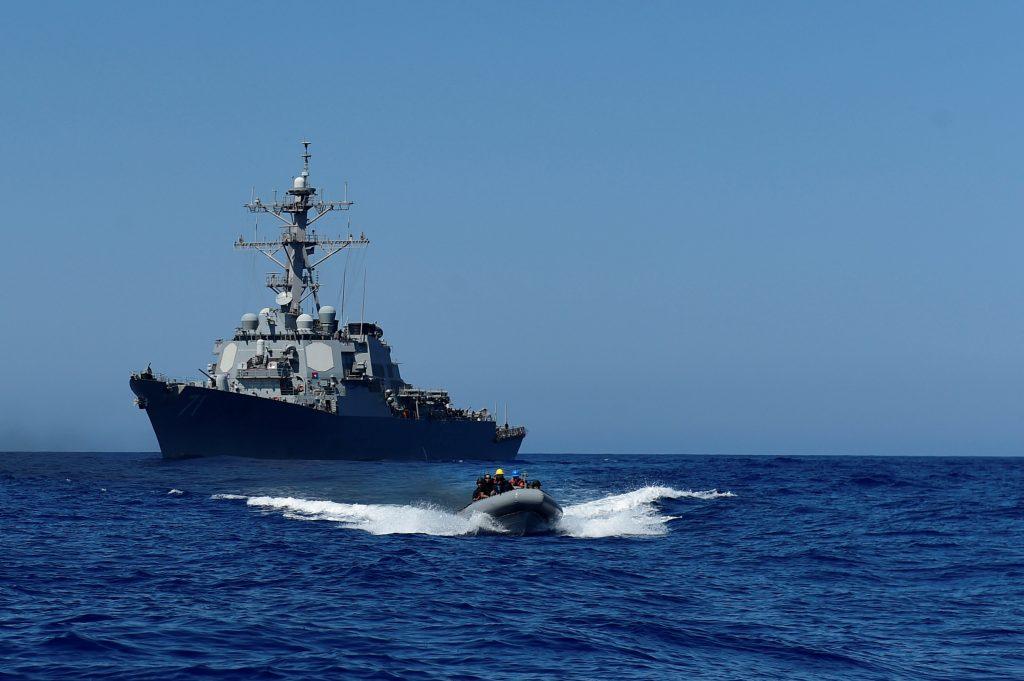 Navy, Tomahawk Missiles, Weapon, Strikes, Syria