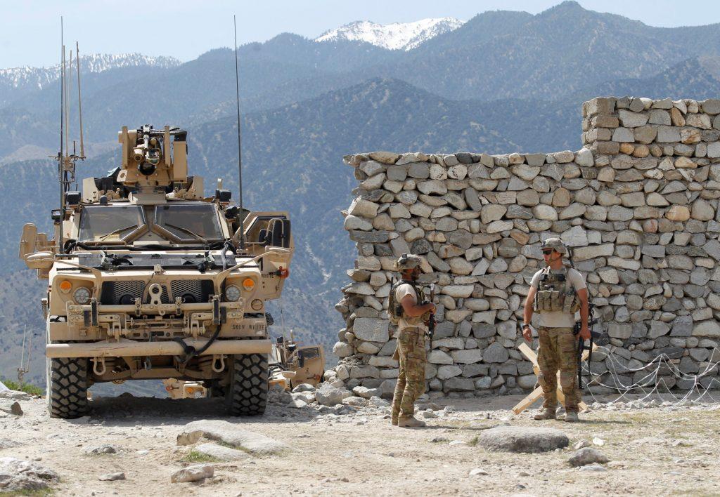 U.S. Troops, Islamic State, Afghan Bomb Strike