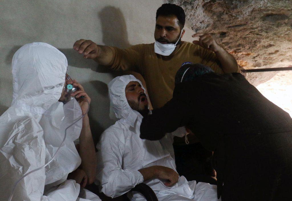Syria, Israel, chemical, gas