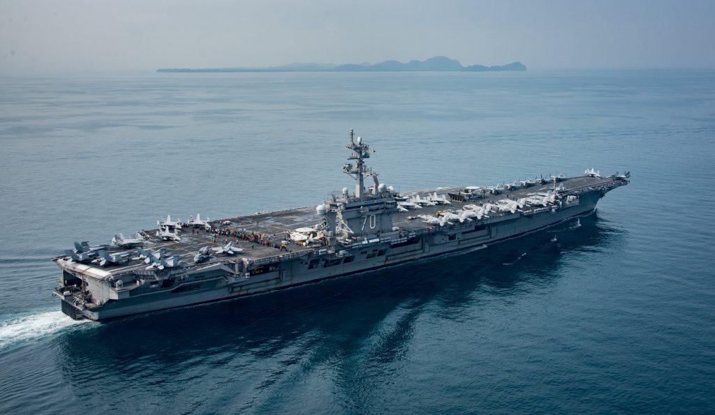 Trump, Armada, Korea