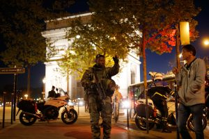 Paris, shooting