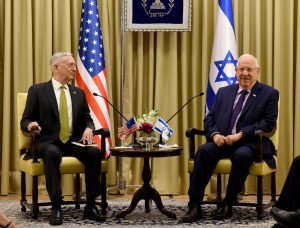 Mattis, Syria, Israel, chemical, Assad, Liberman, Netanyahu, Rivlin