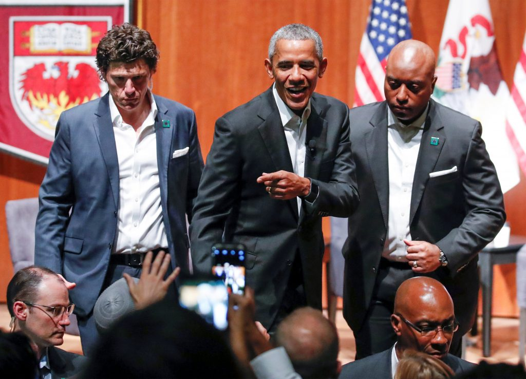Obama, Post-Presidency, Civic Engagement Forum