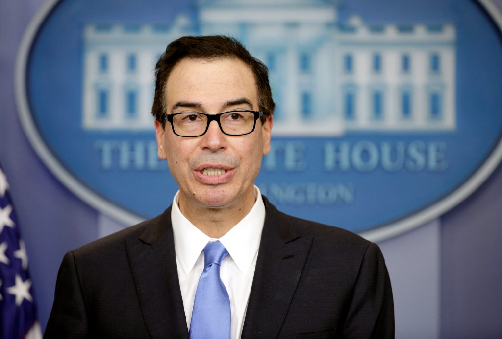 Mnuchin, Treasury, sanctions, Syria