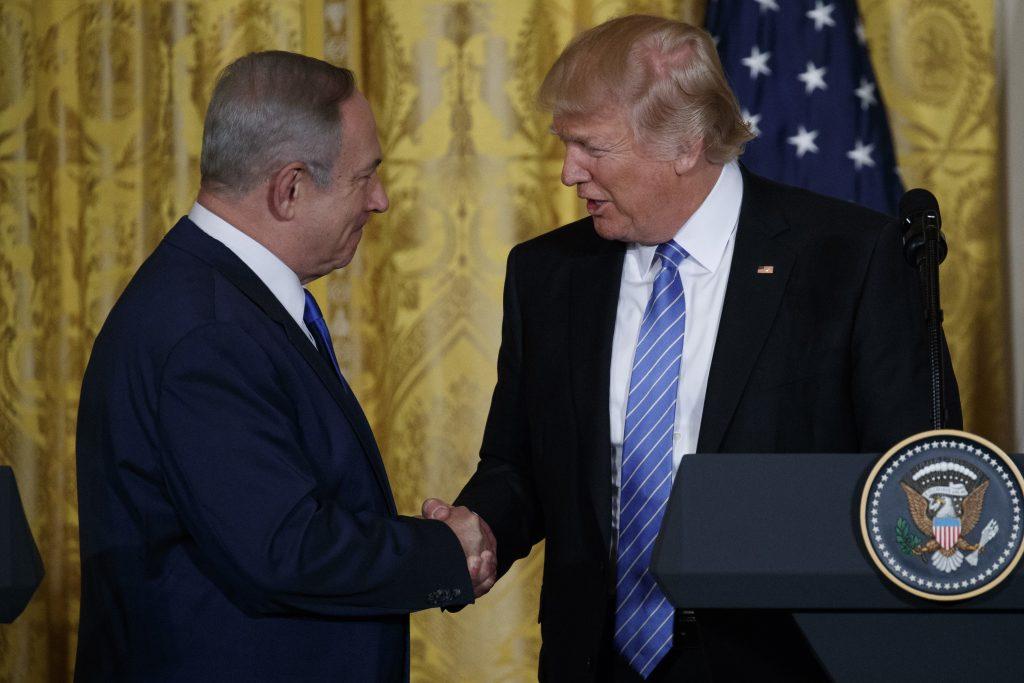 Trump, netanyahu, Yerushalayim, Jerusalem, capital, Israel, embassy, U.S.