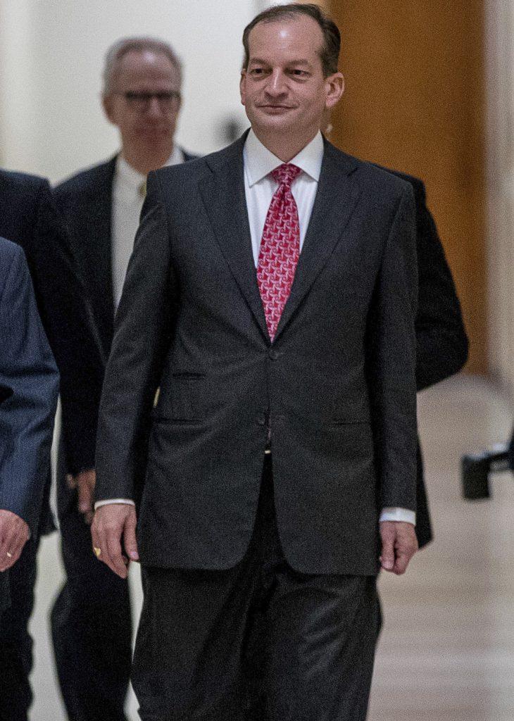 Labor, Acosta, Secretary, Cabinet, Trump