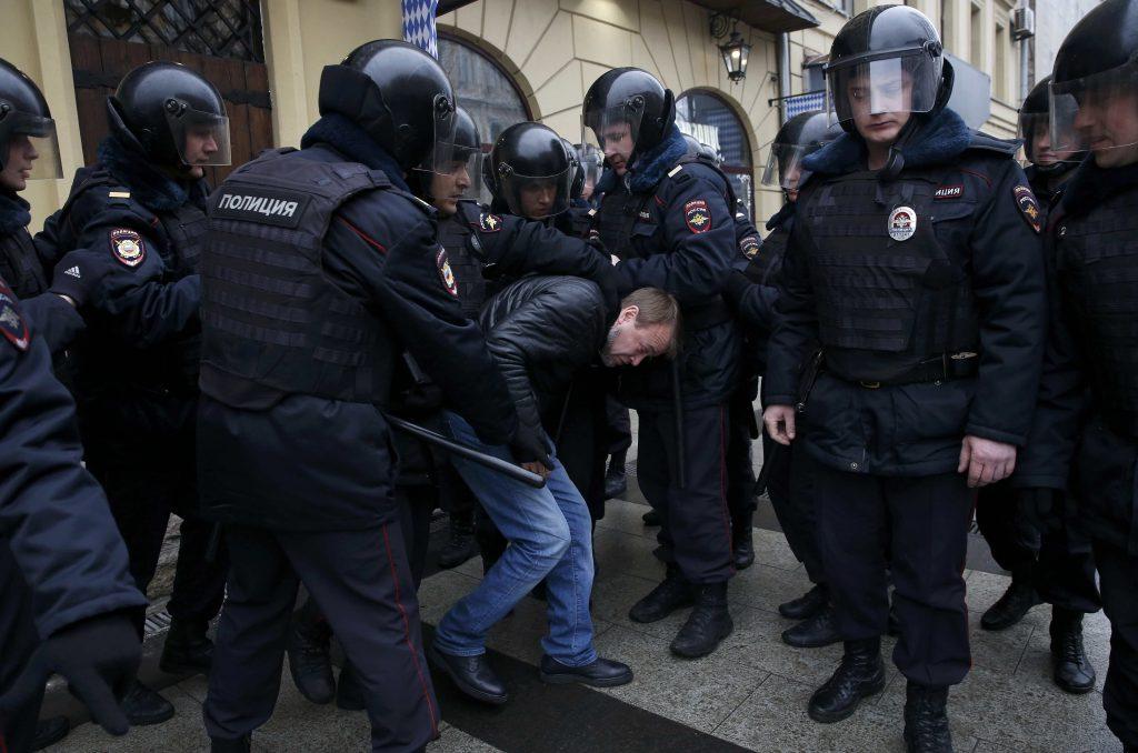 Russia, protest, arrest, corruption, Putin, Medvedev, Russian