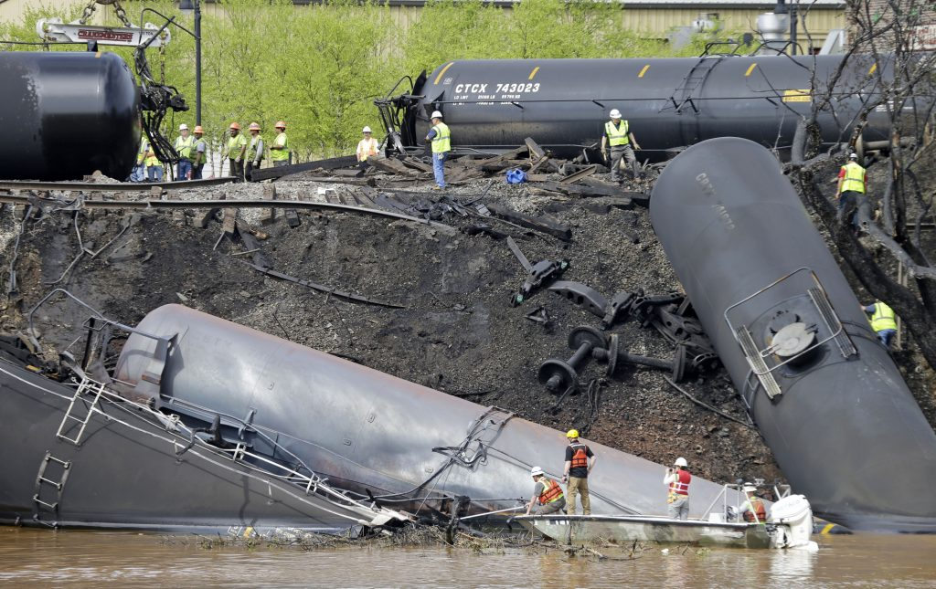 train, oil, derailment