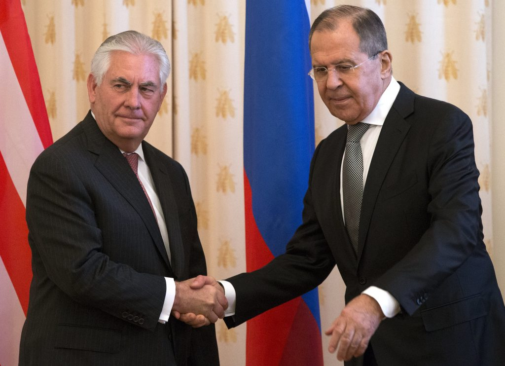 Tillerson, Syria, Russia