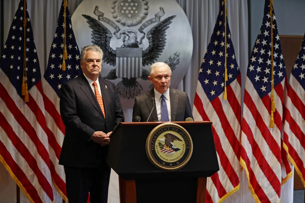 Sessions, Peter King, Long Island, gang, violence, MS-13