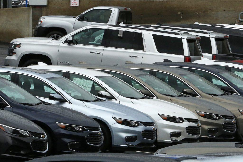 auto, sales, GM,