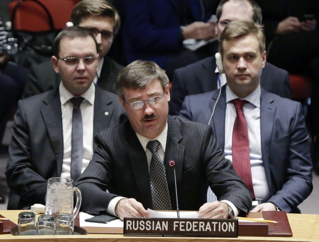 U.N., U.S., Russia, Syria War