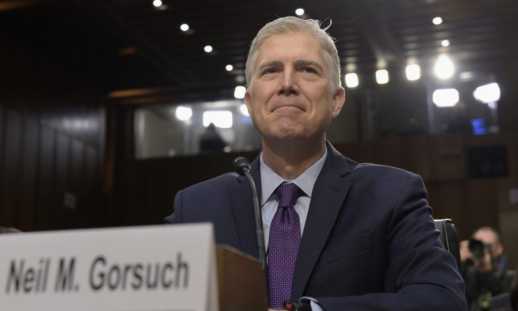 Gorsuch, senate, confirmed, supreme court, confirmation