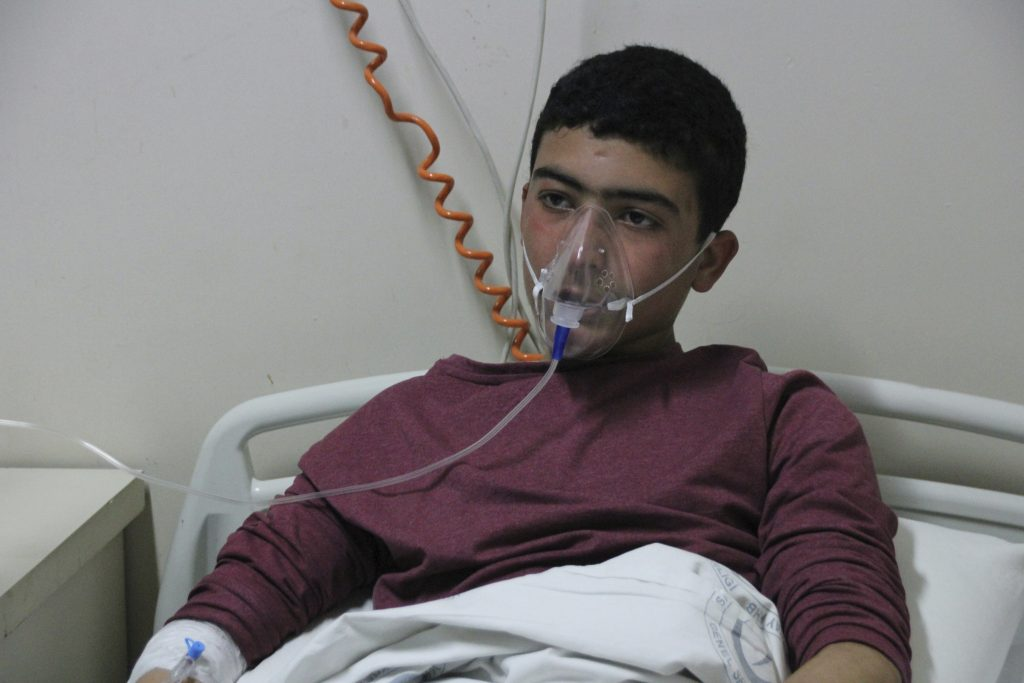Death Toll, Syria Chemical Attack, 75