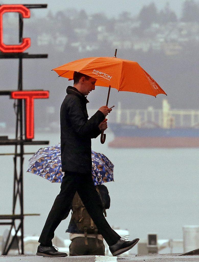 Seattle, rainfall, rain, Washington