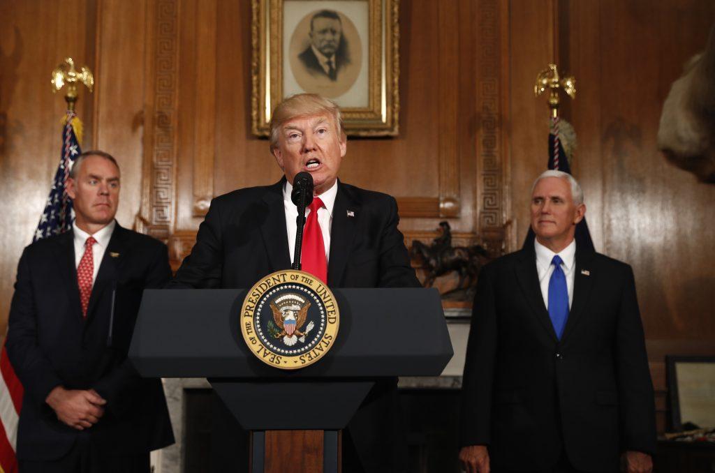 monument, Trump executive order