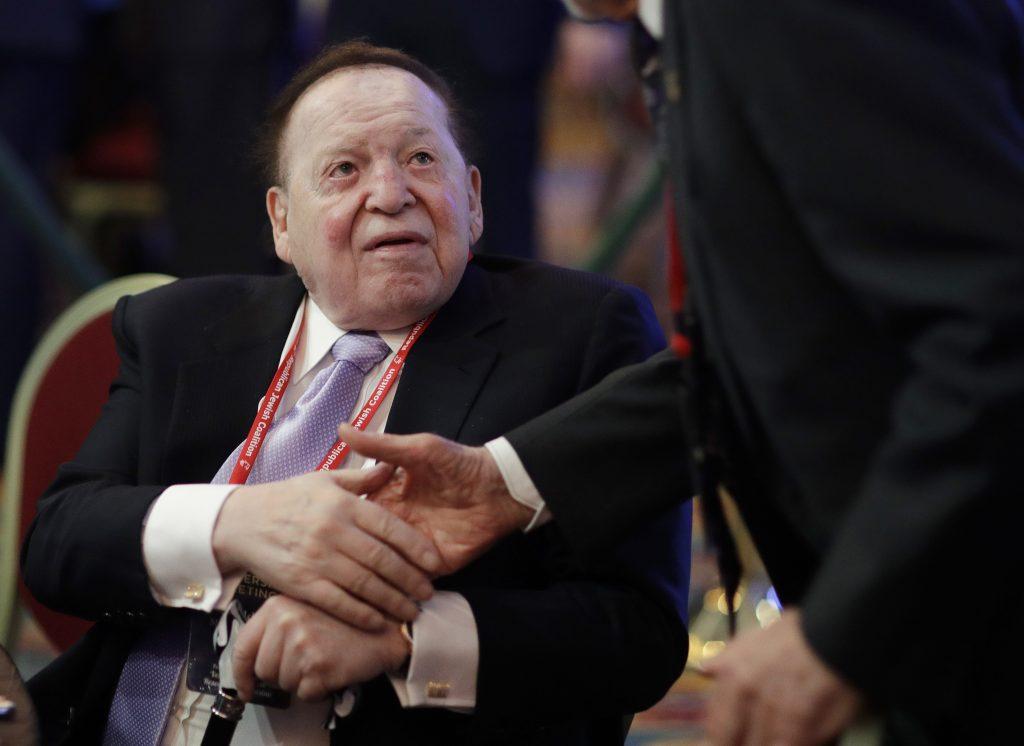 Sheldon Adelson, Sheldon, Adelson, Trumpp