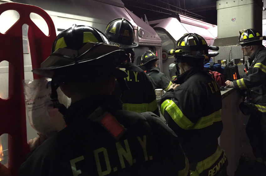 Penn Station, derailment, train, FDNY, subway, Amtrak, LIRR, NJ Transit, New Jersey Transit
