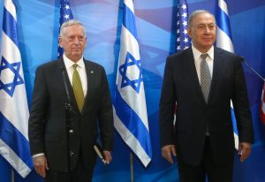 Mattis, Syria, Israel, chemical, Assad, Liberman, Netanyahu