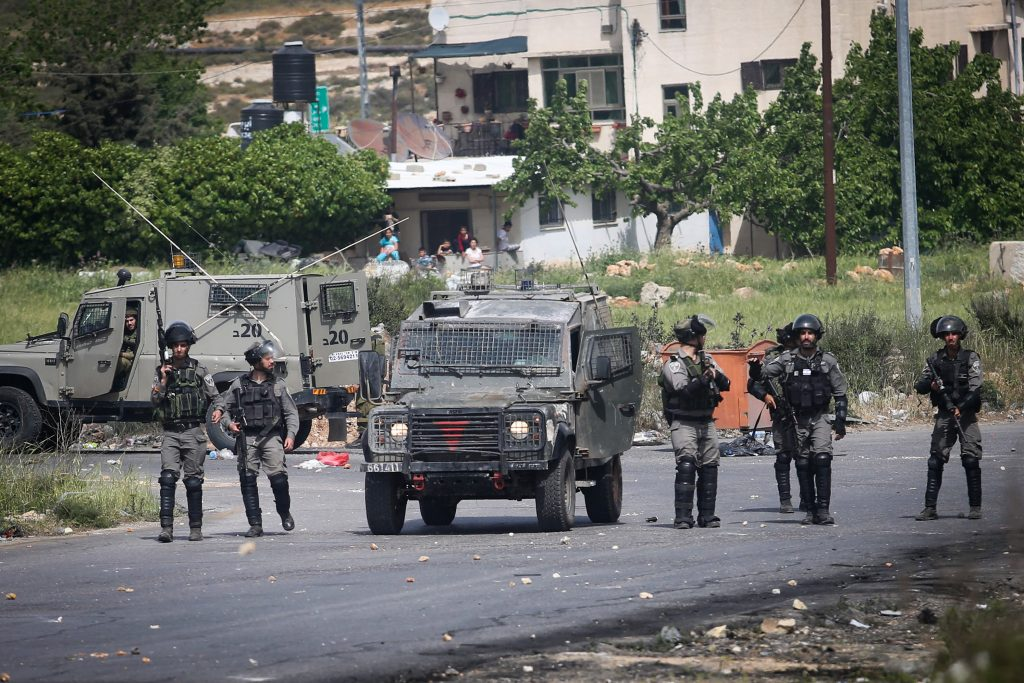 Security Forces, Palestinian, Day of Rage