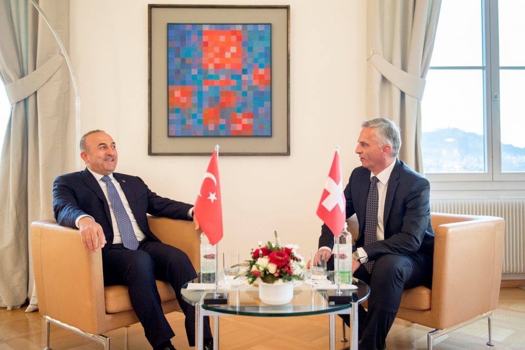 Swiss, FM, Hamas