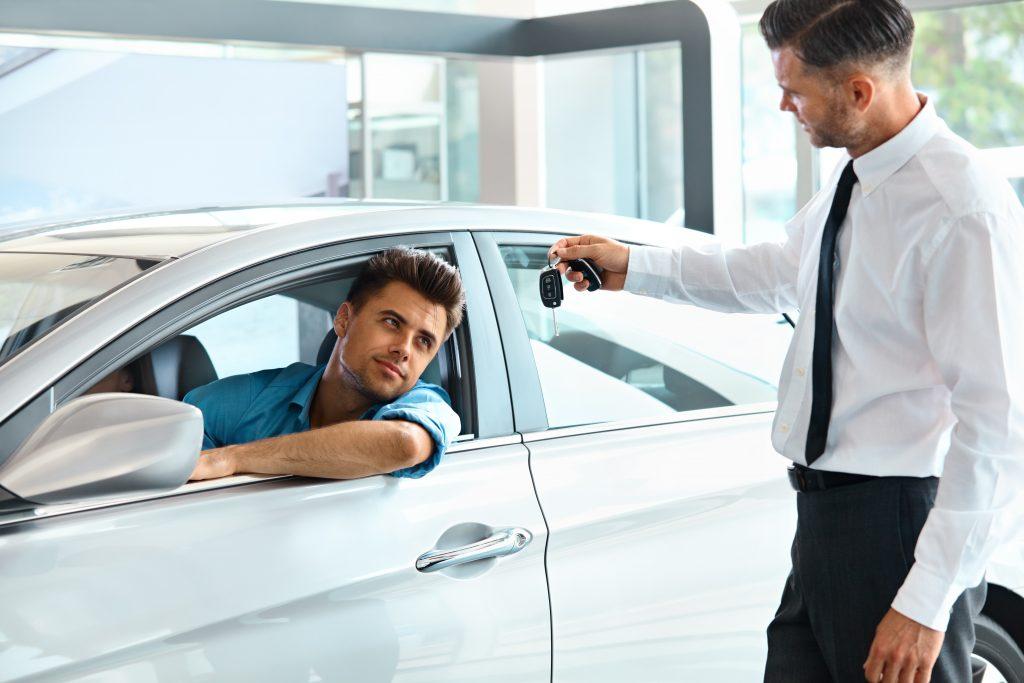 car, auto, salesman