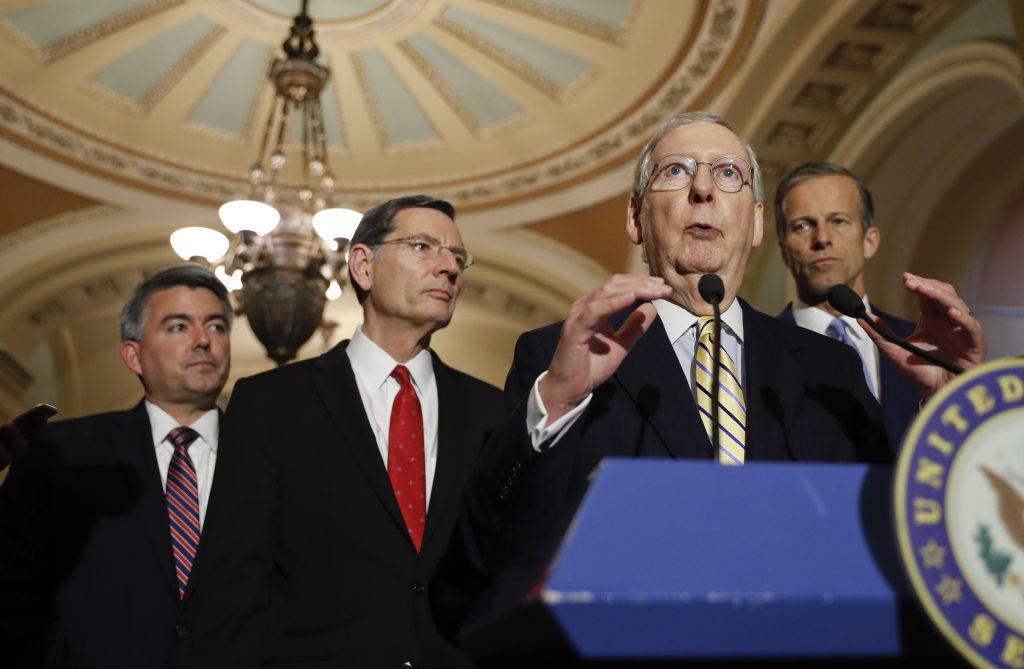 Republicans, Senate, Spending, McConnell