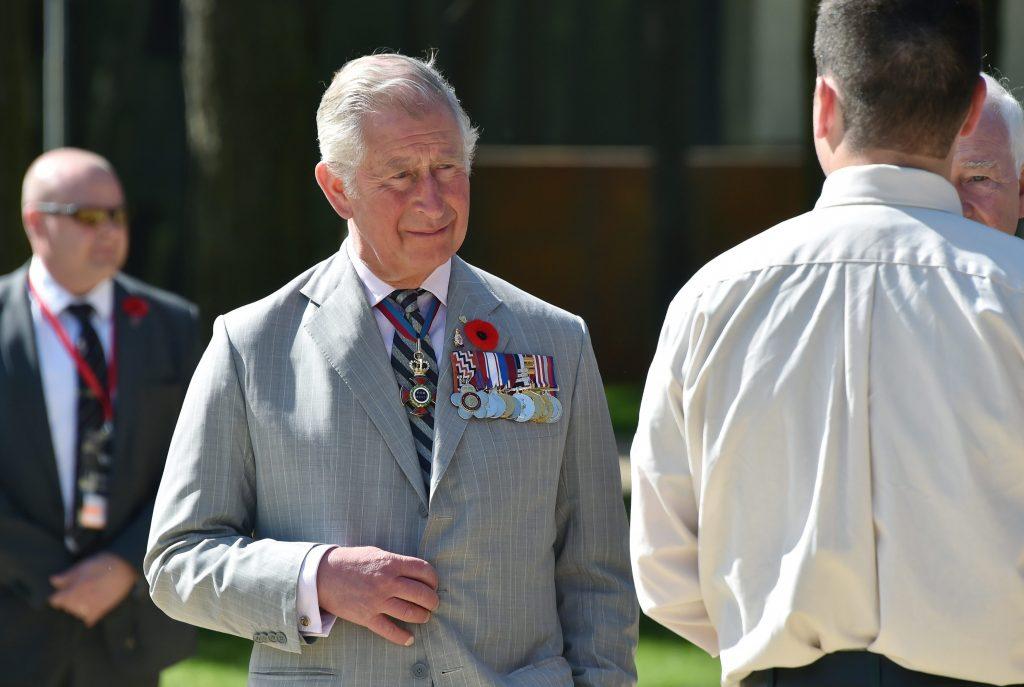 Prince Charles, Visit, U.K. Foreign Office