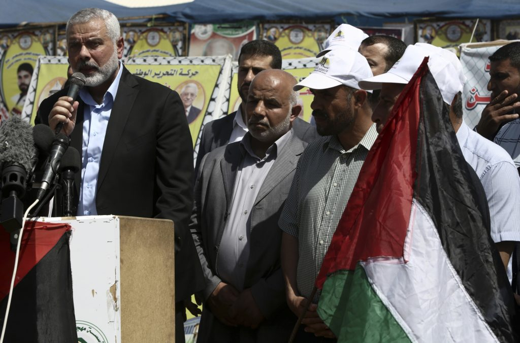 Hamas, Haniyeh, Palestinian