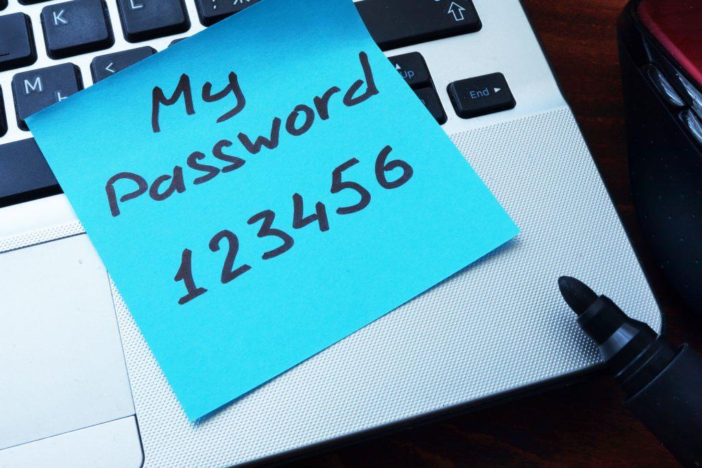 Password, Terrible, Fix