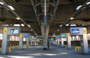 George Washington Bridge bus station terminal