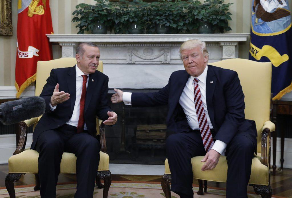 Erdogan, Trump, U.S.-Turkish, Ties, Tensions