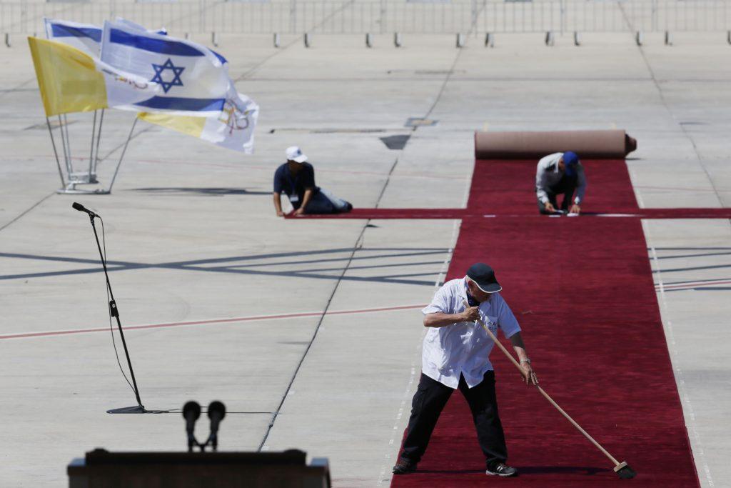Israel, Red Carpet, President Trump