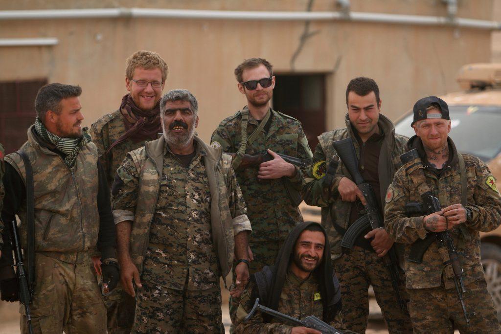 U.S., Syrian Militias, Capture, Tabqa, Islamic State
