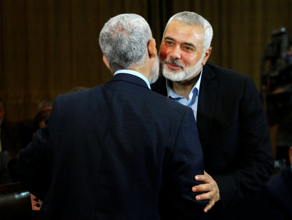 Hamas, Official, Softened Stance, Israel